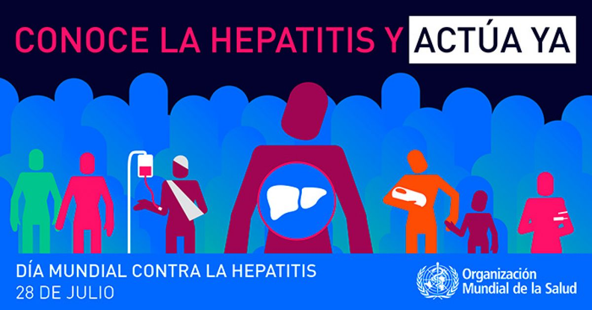 Foto noticia OSPeCon - 28 de julio - Día Mundial contra la Hepatitis.