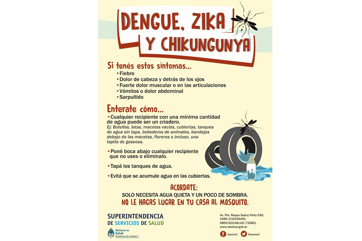 Foto noticia OSPeCon - Dengue, Zika y Chikungunya